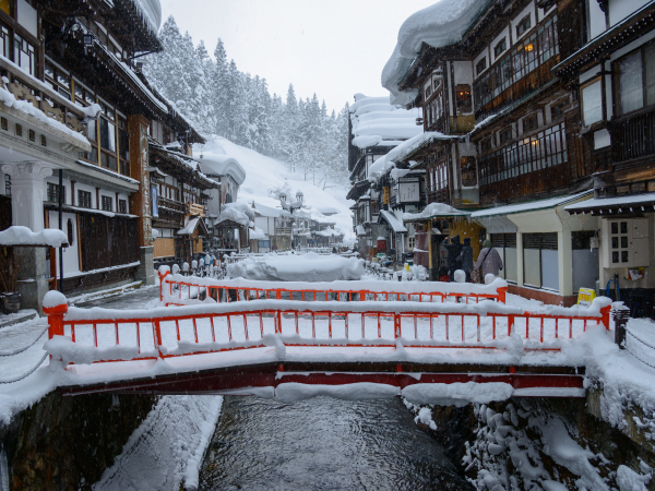 Adventure Travel in Japan Winter Ginzan Onsen Luxury Travel Japan Regency Group
