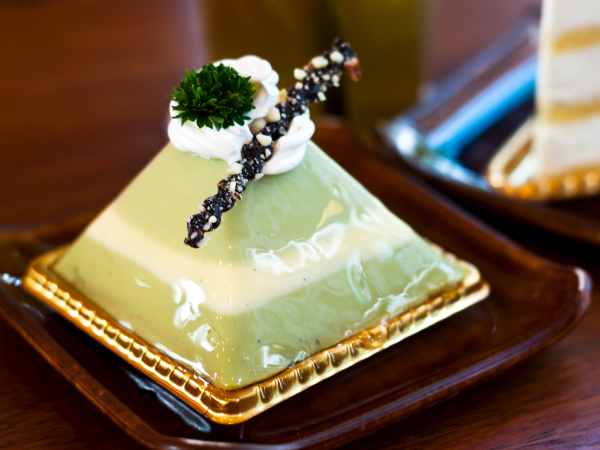 Gourmet Japanese Food Matcha Green Tea Cake Luxury Travel Japan Regency Group
