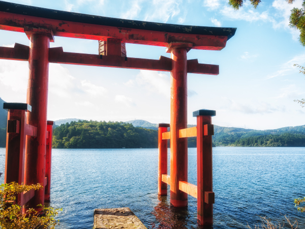 Hakone Torii Gate Lake Ashi Luxury Travel Japan Regency Group