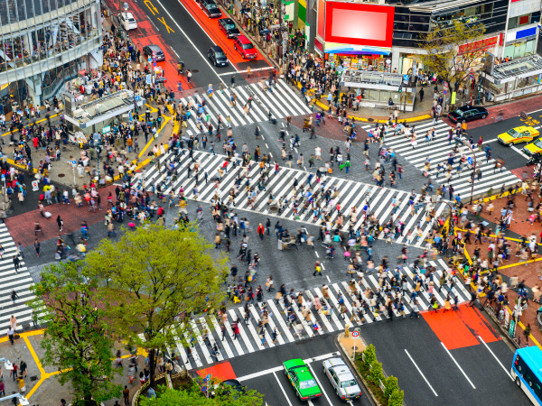 Modernity Shibuya Crossing Tokyo Luxury Travel Japan Regency Group