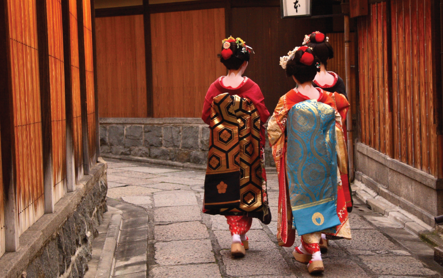 Amazing Japan Geishas Kyoto Luxury Travel Japan Regency Group