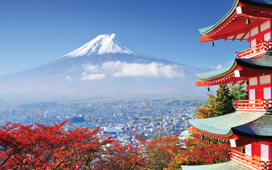 Visit Japan Scenery Mount Fuji Luxury Travel Regency Group