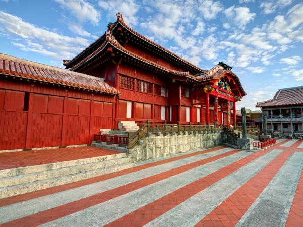 Okinawa Shuri Castle Luxury Travel Japan Regency Group