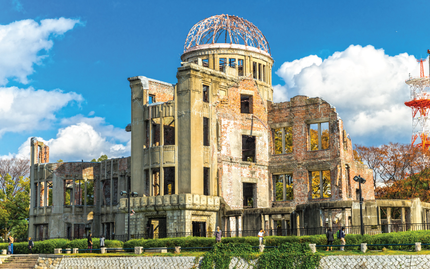 Hiroshima Dome Luxury Travel to Japan Regency Group