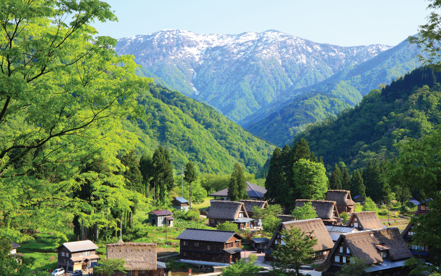 Gokayama Japan Villages Luxury Travel to Japan Regency Group