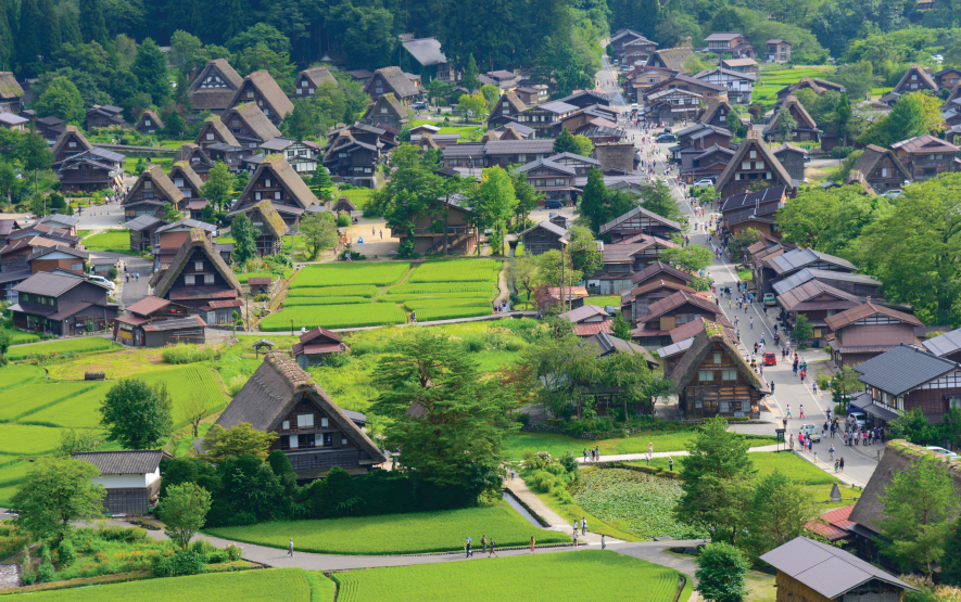 Japan Villages Gassho Zukuri Luxury Travel to Japan Regency Group