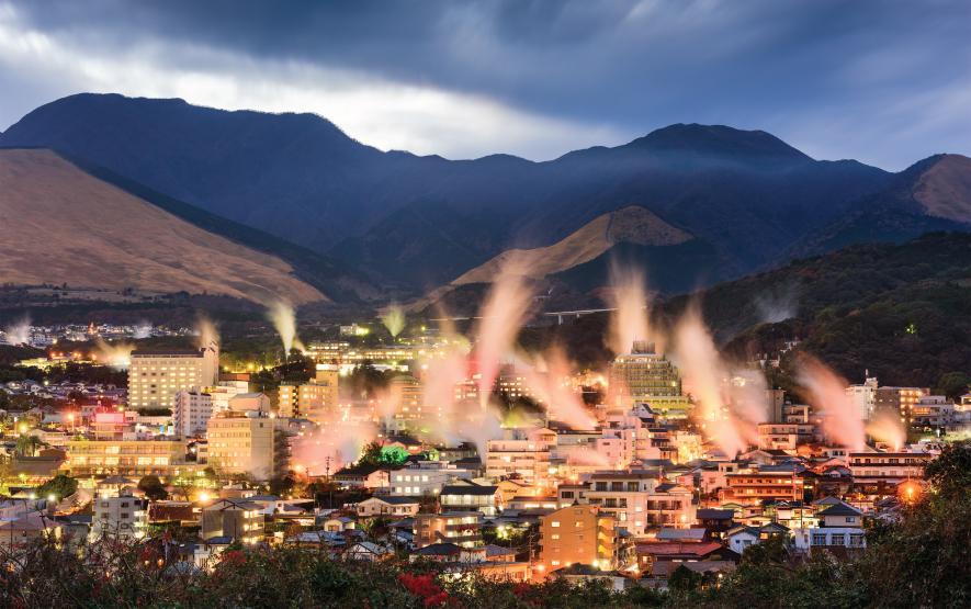 Onsen in Japan Beppu Hot Springs Luxury Travel to Japan Regency Group