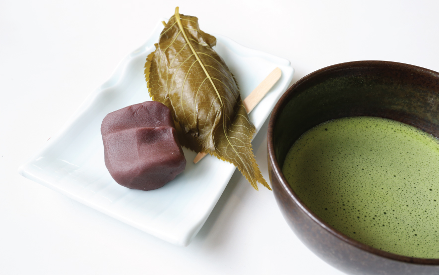 sakura mochi cake green tea Luxury Travel to Japan Regency Group