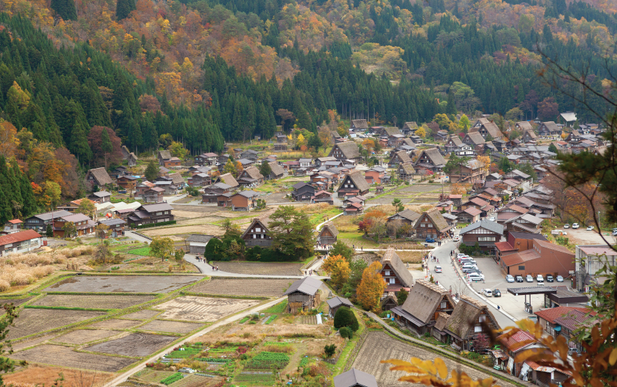Japan Villages Shirakawa go Luxury Travel to Japan Regency Group