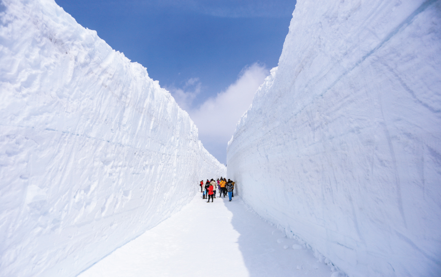 Snow Wall Tateyama Luxury Travel to Japan Regency Group