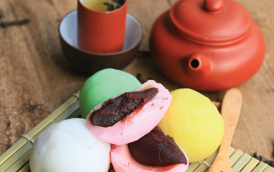 mochi red bean paste Luxury Travel to Japan Regency Group