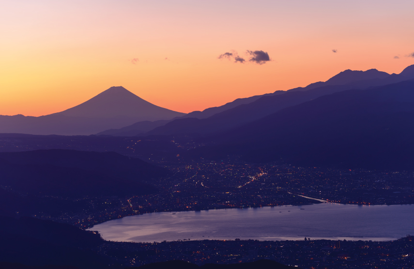 Suwa City Mount Fuji Luxury Travel to Japan Regency Group