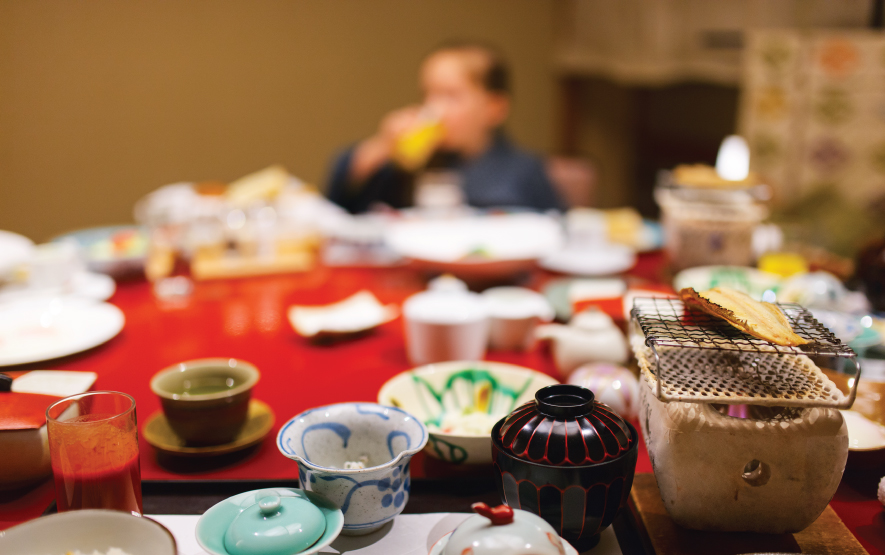 Traditional Meal Japan Luxury Travel Regency Group