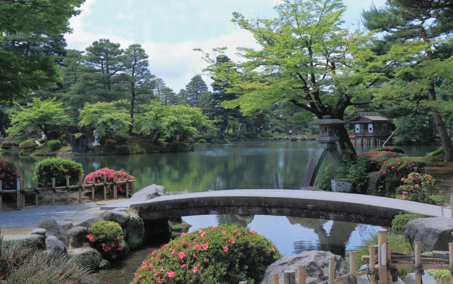 Garden Kenrokuen Kanazawa Luxury Travel Japan Regency Group