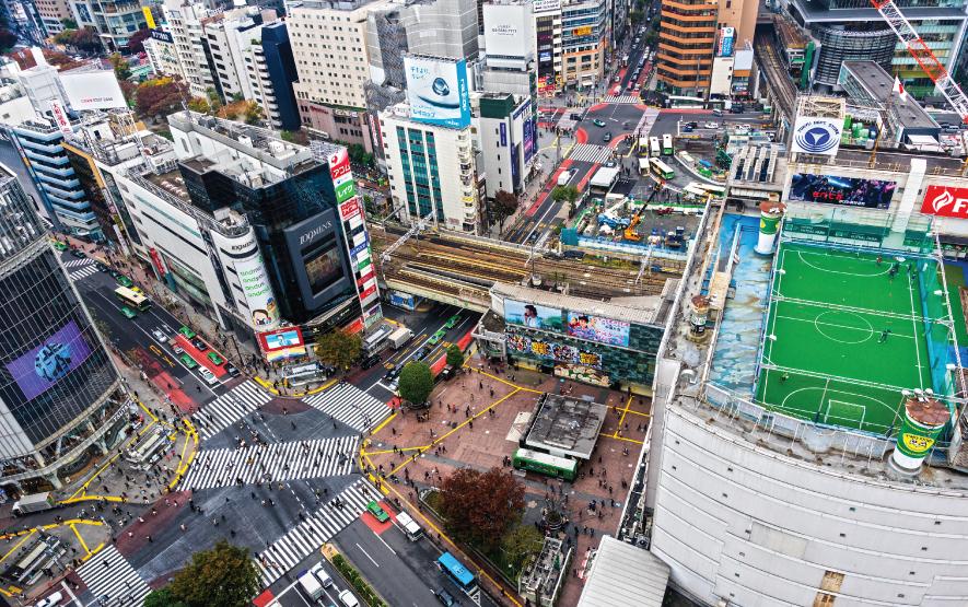 Shibuya Crossing Tokyo Luxury Travel Japan Regency Group
