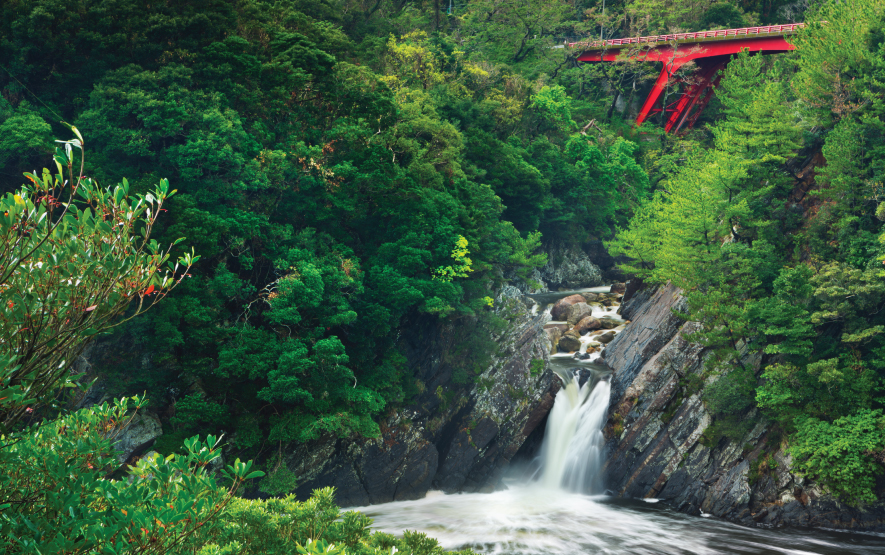 Toroki Falls Yakushima Island Luxury Travel Japan Regency Grou