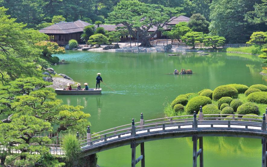 Ritsurin Garden Luxury Travel Japan Regency Group
