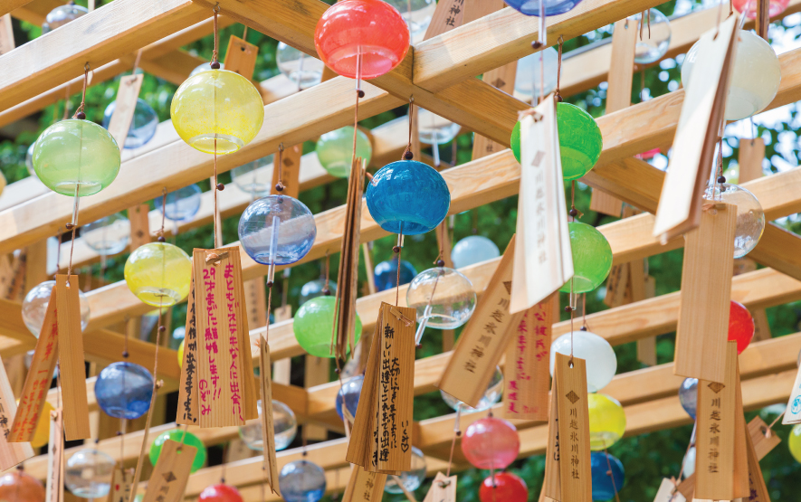 Hikawa Shrine Wind Chimes Travel Japan Regency Group