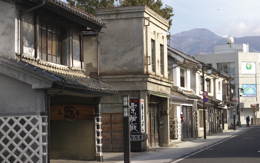 Nakamachi street Nagano Prefecture Tourism Association
